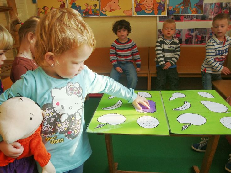 klasblog van de jongste kleuters uit Ellikom!: Thema fruit in de klas.