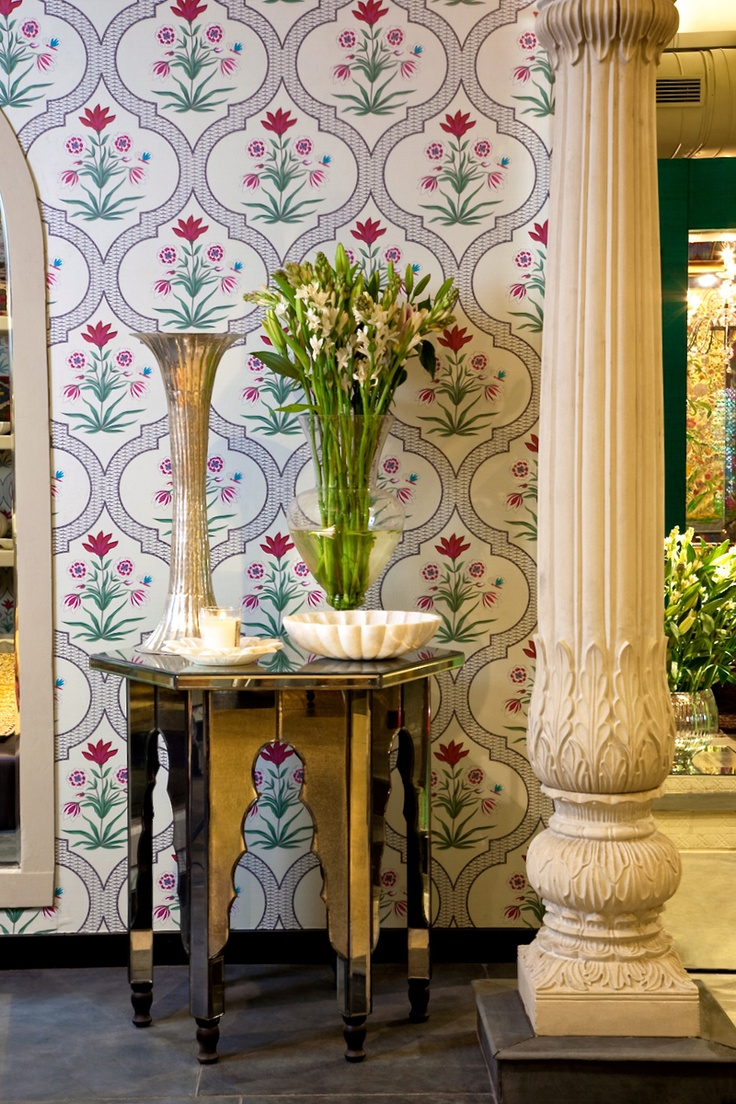 Bespoke Textiles And Wallpaper From Good Earth