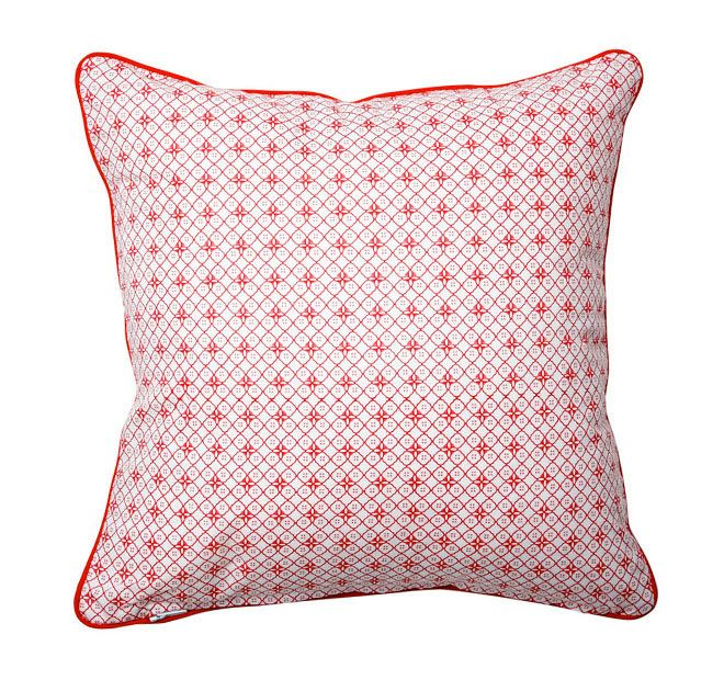 Lilly and Lolly Petite Rouge 25x25cm Filled Cushion