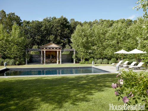 A greek revival farmhouse wood pergola and pergolas for English garden pool
