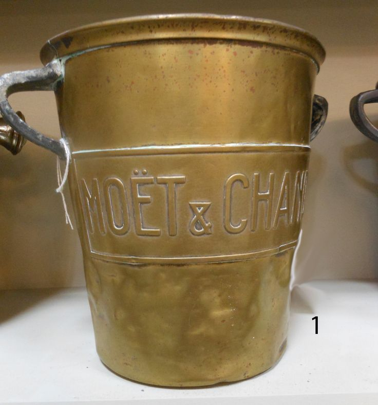 Rare Antique French Moet & Chandon champagne bucket