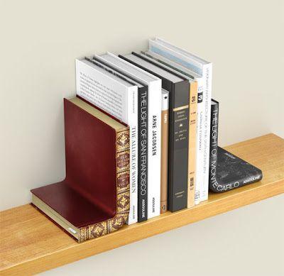 Bookshelf: Bent Bookends