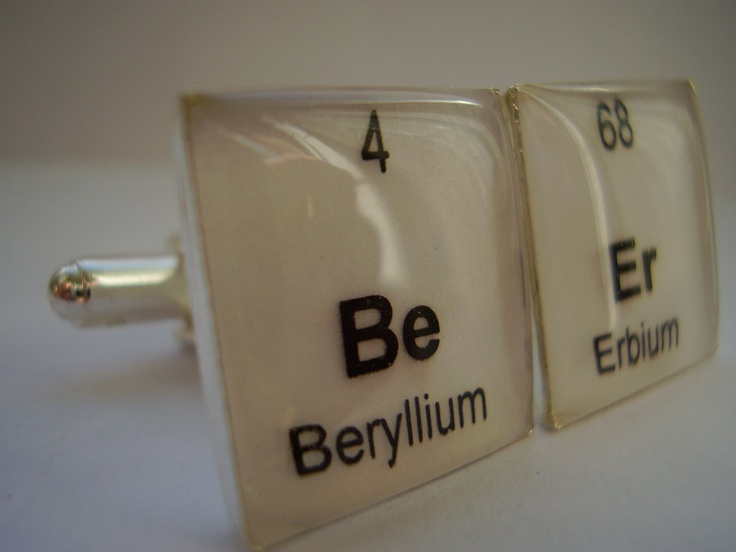 Periodic Table cuff links - guaranteed to impress the science lover in your life.
