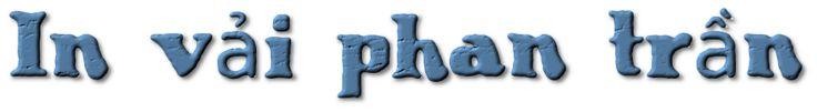 Công ty in áo thun chất lượng cao cấp tại Hải Phòng - CT TNHH PHAN TRẦN