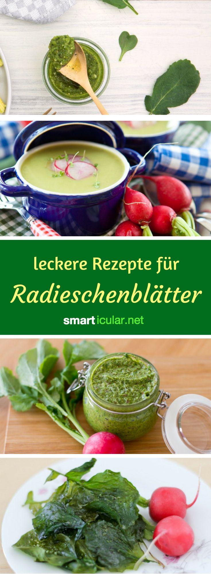 Radieschengrün taugt zu mehr als nur zu Hasenfutter! Mit diesen Rezeptideen zauberst du aus den vitalstoffreichen Blättern eine gesunde und köstliche Mahlzeit.
