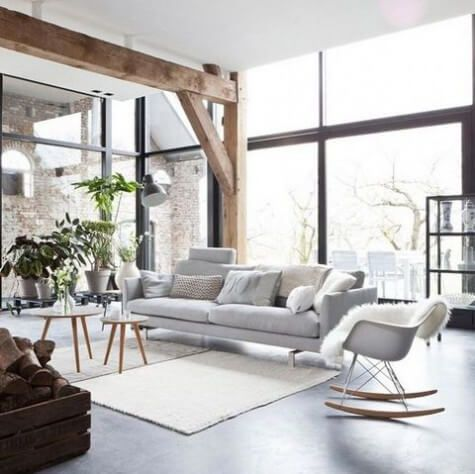 77 Gorgeous Examples of Scandinavian Interior Design Light-and-serene-Scandinavian-home