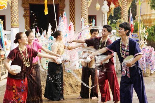 Songkran Festival 2014, Chaiyaphum province