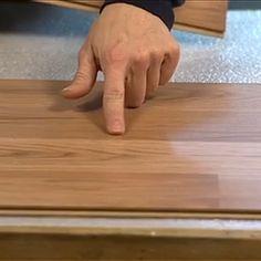 Technique de pose de plancher flottant