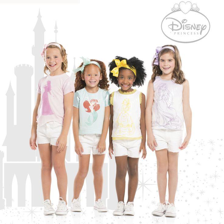 Viste a tu #princesa con las prendas de la línea de #DisneyPrincesasbyEPK. Dale Like si imaginas a tu princesita con alguno de éstos looks!