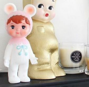 WOODLAND DOLL- PALE PINK - Too Cool For School