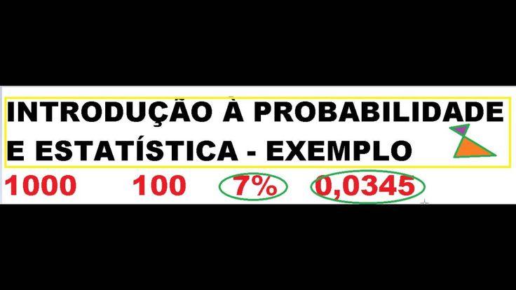 Probabilidade de taxa de defeitos https://youtu.be/DmOybvAPKlw Exercício de itens defeituosos em uma ...
