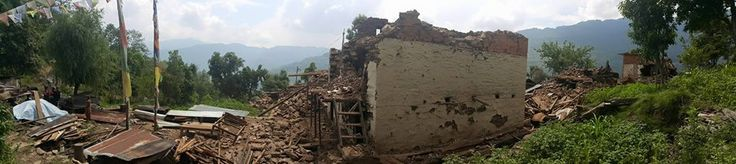We recently visited Dolakha (the epicentre of the second quake) and two villages in Dhading.  #GVI #NepalEarthquake