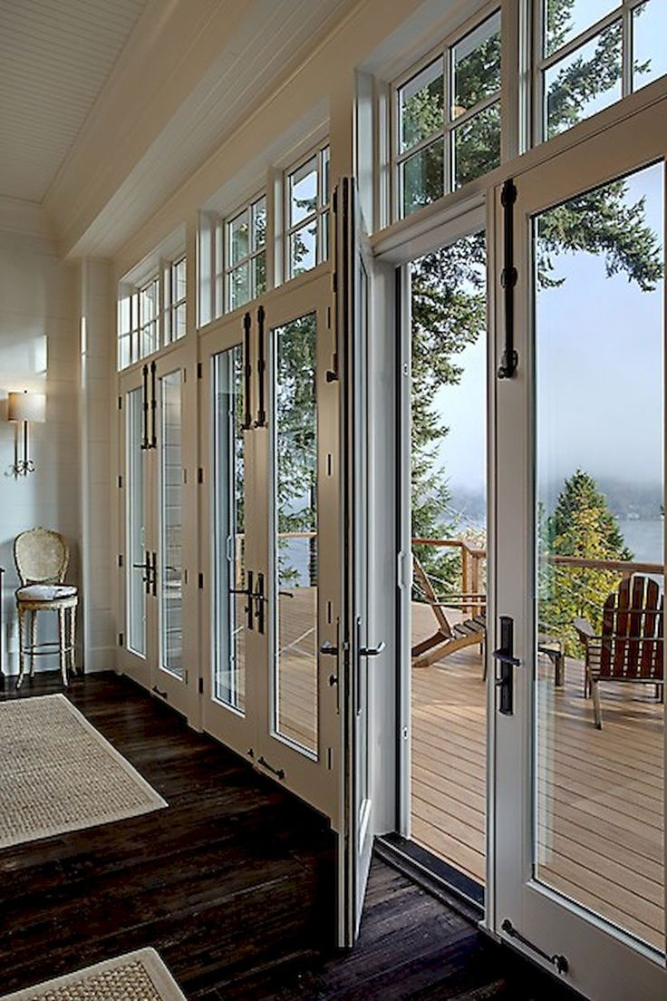 75 Modern Lake House Exterior Designs & 43 best Balcony images on Pinterest   Bifold french doors Bifold ... pezcame.com