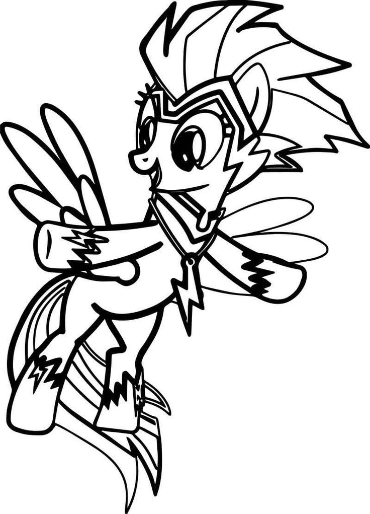 Rainbow Dash Fly Coloring Page Coloring pages, Rainbow