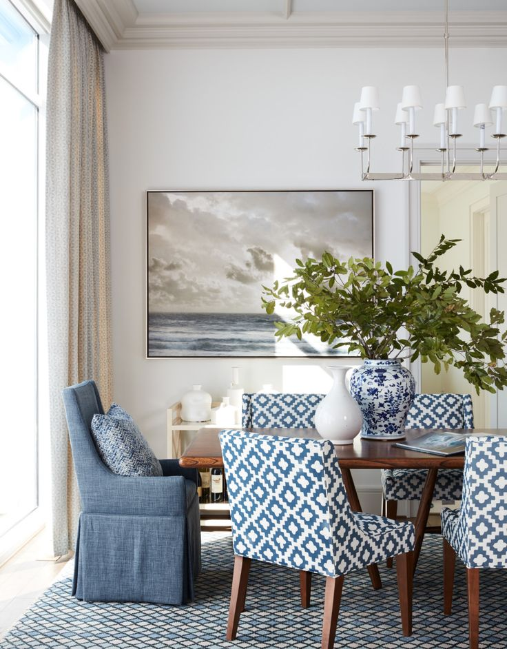 a beautiful dining room by Andrew J. Howard Interior Design