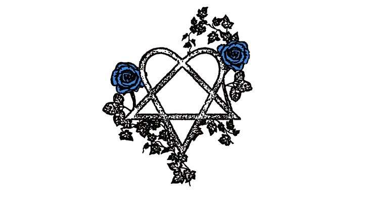 tattoo heartagram design by LilxMissxSpookiness on DeviantArt