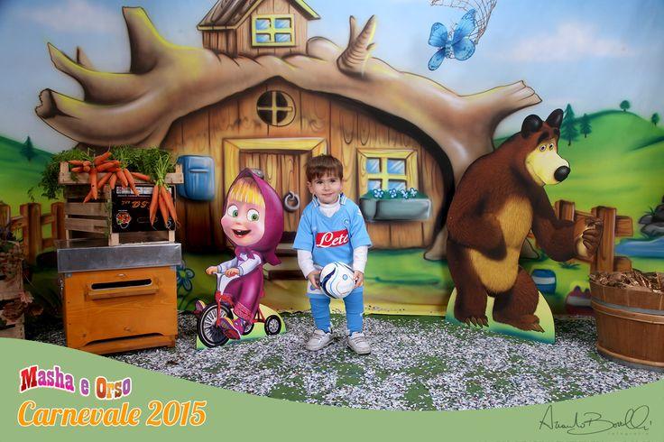 || Masha e Orso || per il carnevale 2015 vi aspettiamo per info 081.7714724