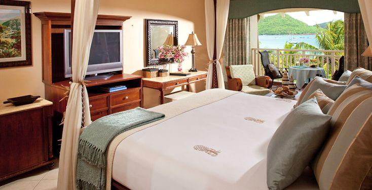 Sandals Grande St. Lucian Caribbean Beachview Club Level Room
