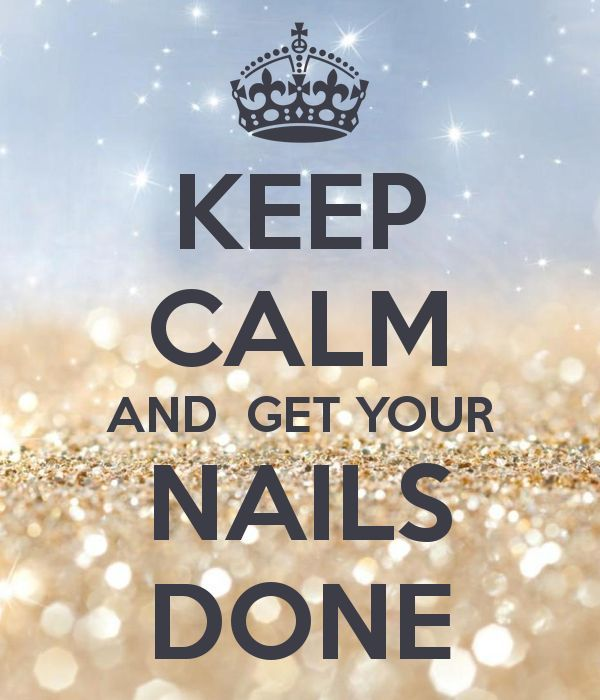There's no better feeling than fresh nails!