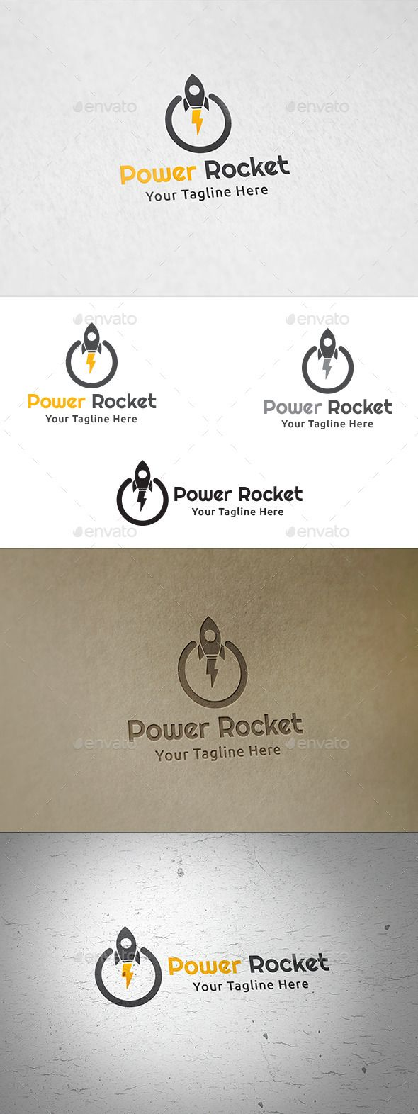Power Rocket - Logo Template