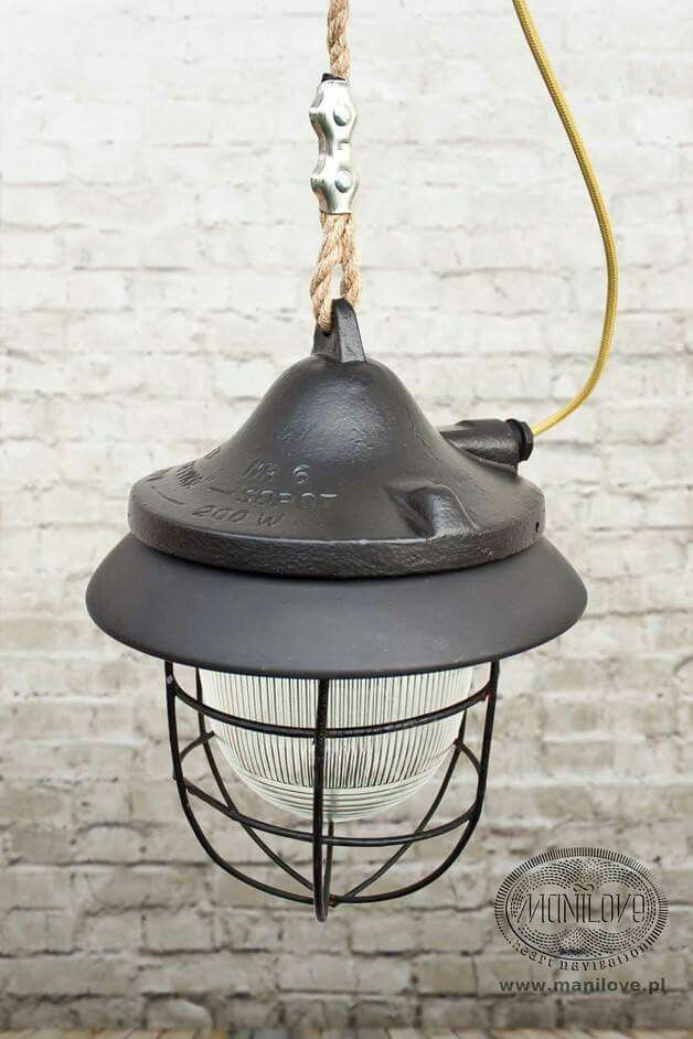 #industriallamp #vintage #bauhaus #loft #altelampe #oldlamp #old #light #original #industrielampe