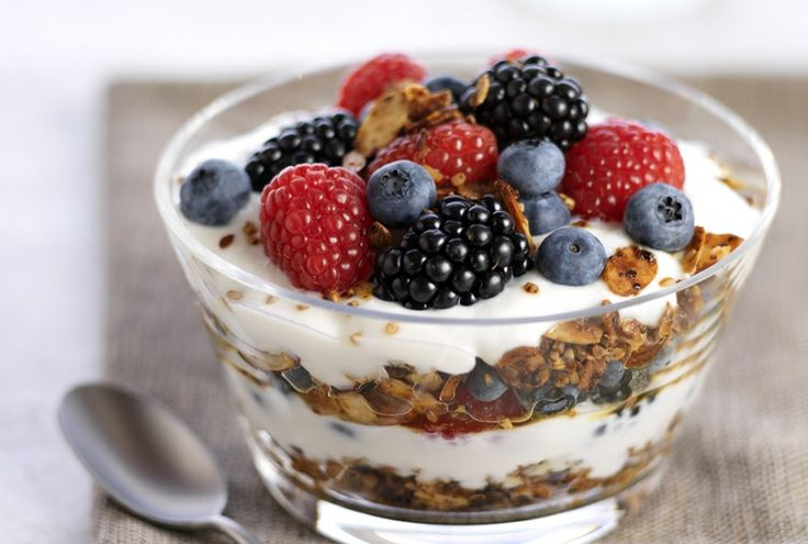 Mixed Berry Parfait with Steel-Cut Granola