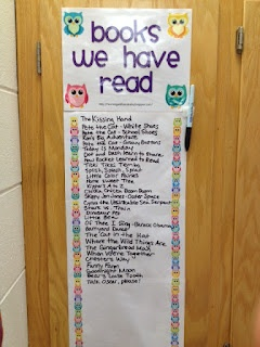 Cute freebie and great idea! Learning with Mrs. Leeby: Books We Have Read