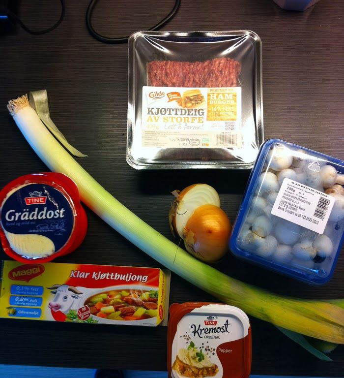 Tysk ostesuppe
