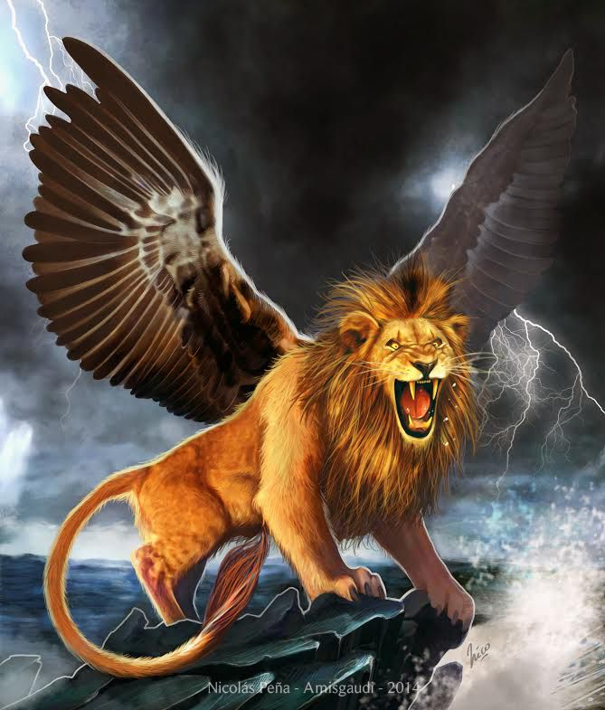 The Winged Lion, Commission 2 By Amisgaudi On DeviantArt