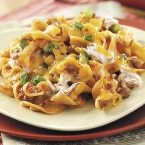 Hamburger Noodle Casserole........  Delicious , quick and easy for a last minute meal.