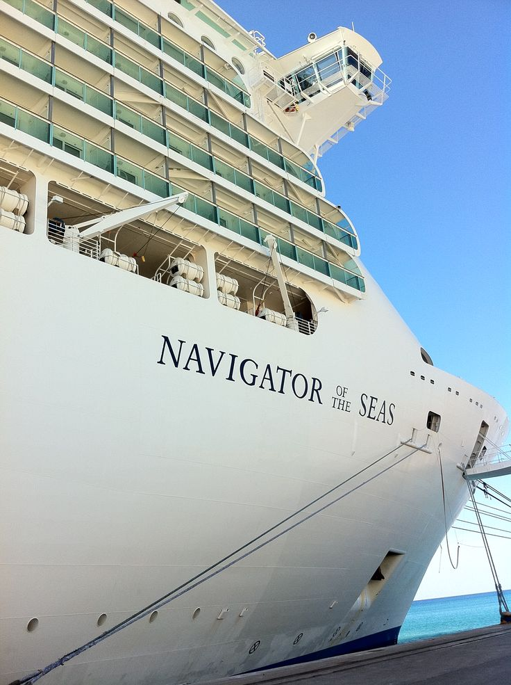 Cruising on this ship :) Royal Caribbean's Navigator of The Seas <3