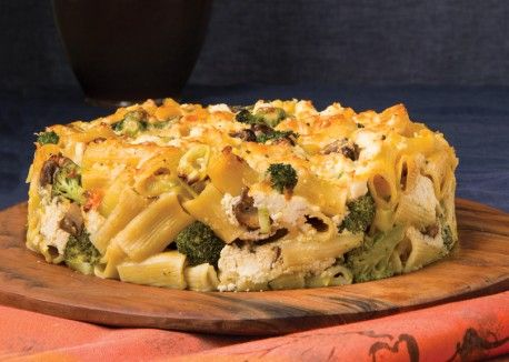Rigatoni Torte with Ricotta Cheese and Fall Vegetables