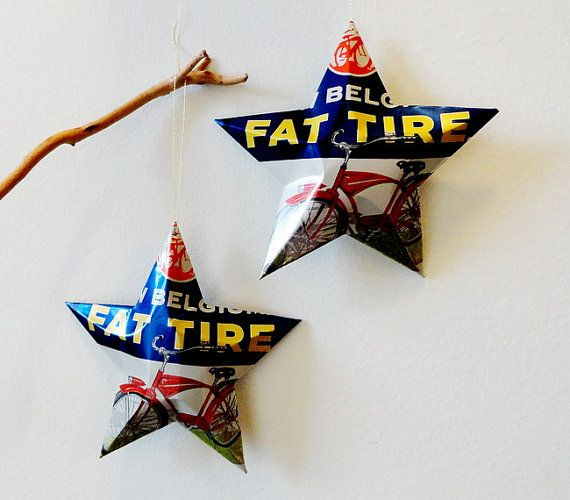 Fat Tire Beer Can Stars New Can by LizardSkins on Etsy, $12.00