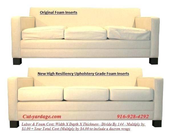 Memory Foam Replacement Sofa Cushions In 2020 Cushions On Sofa Memory Foam Sofa Replacement Couch Cushions
