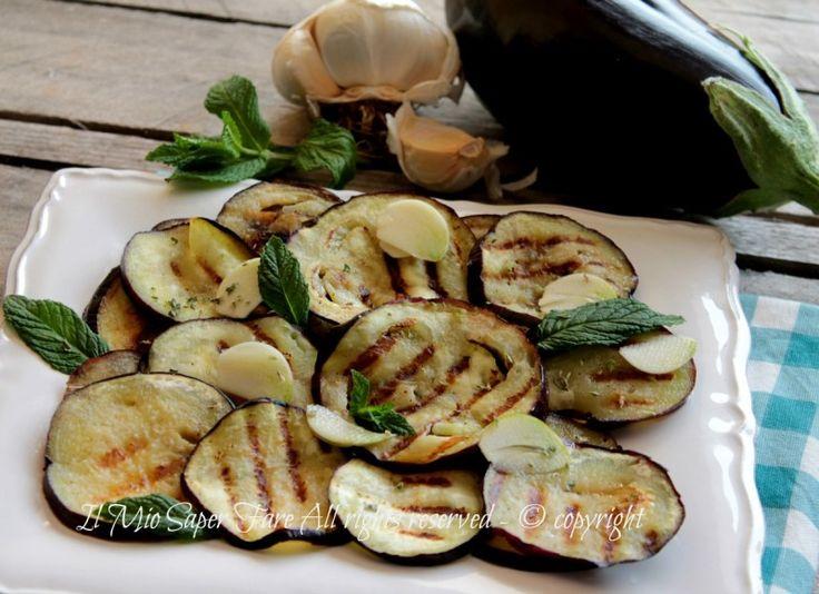Melanzane marinate ricetta verdure marinate con aceto il mio saper fare