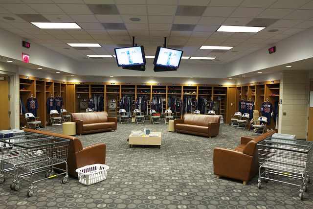 Baseball Locker Room Published By Notbooth