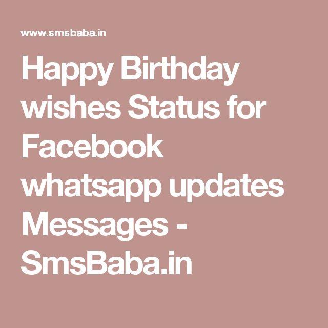 The 25+ best Whatsapp birthday status ideas on Pinterest   Secret ...