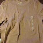 Long-sleeve ruffle trim tee tutorial