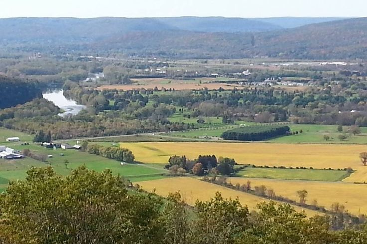 Elmira, NY...view from Harris Hill look out | Elmira, New ...