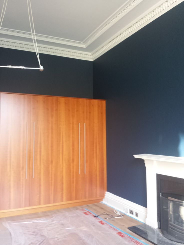 Ceiling In Dulux Swedish White And Walls Dulux Heritage