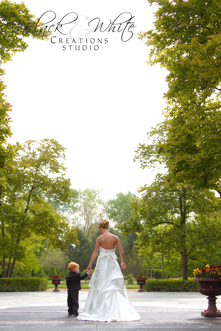 Bride with son pose...could do it with two children looking at the mom. @Allison j.d.m Bain wedding