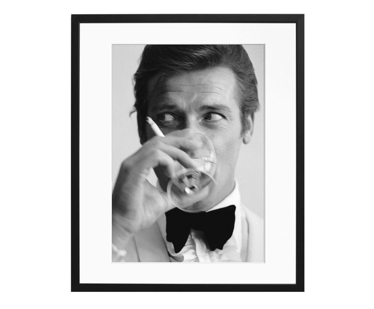 Fotodruck Roger Moore - SONIC EDITIONS >> WestwingNow