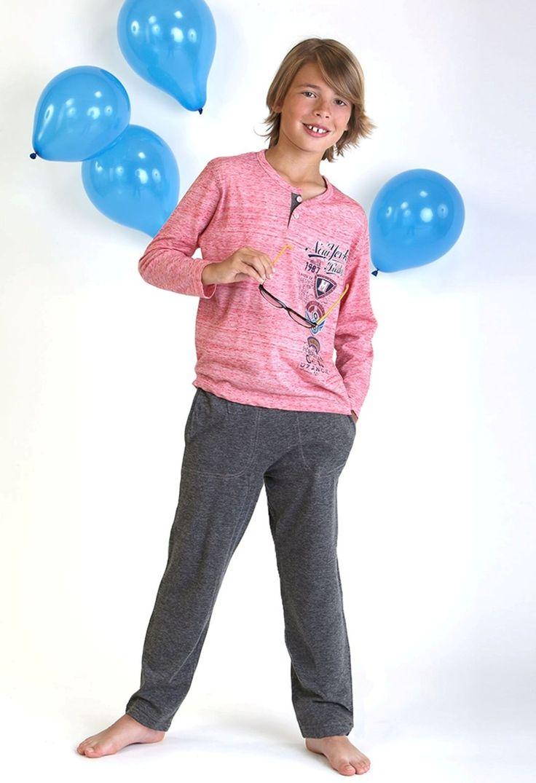 Pijama niño entretiempo pantalón largo #massanakid #homewear