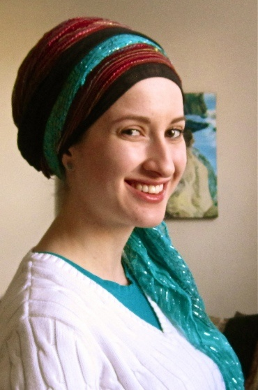 And another beautiful head covering.