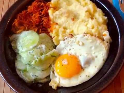 Schnippelboy-Kartoffel-Sellerie Stampf,Möhren Zoodles