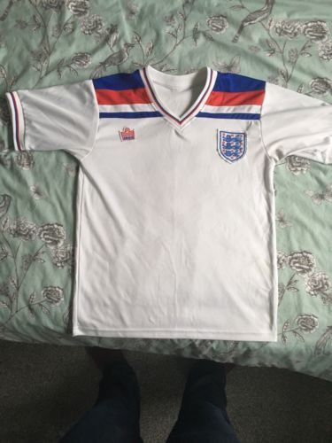 England 1982 admiral #football #shirt #retro/vintage small,  View more on the LINK: http://www.zeppy.io/product/gb/2/282331206256/