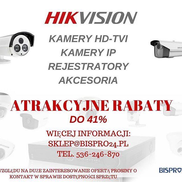Zapraszamy! #promocja #rabat #bispro24 #skleponline #cctv #monitoring