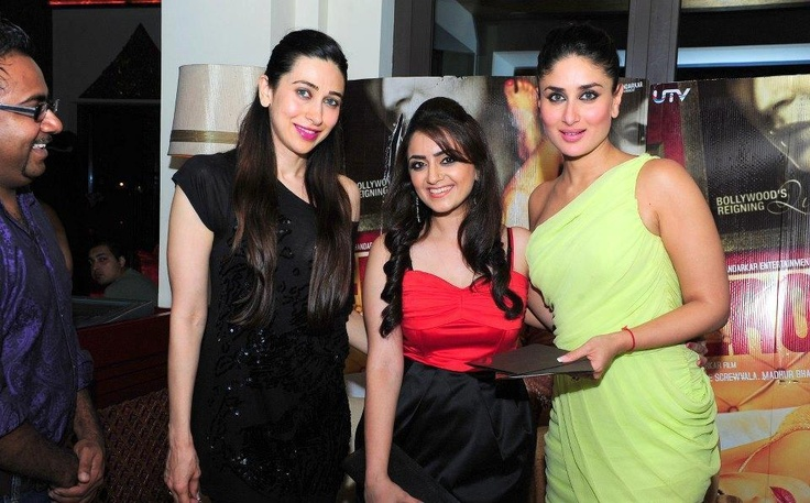 Kareena Kapoor and Karishma Kapoor Promoting Heroine in Dubai. | Bollywood Cleavage