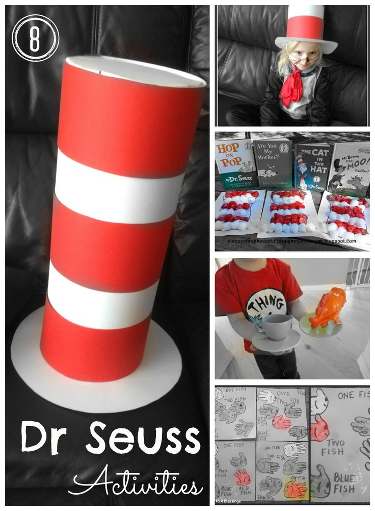 8 Dr Seuss activities for kids - crafts, costumes, recipes and more!