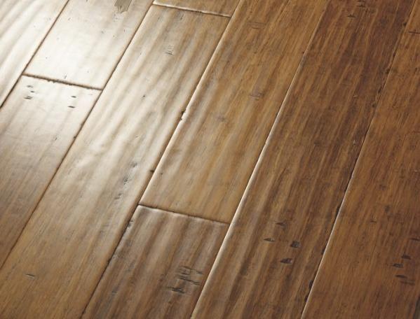 carbonized bamboo flooring handscraped strand woven bamboo flooring